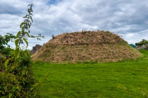 The 11th century Norman motte