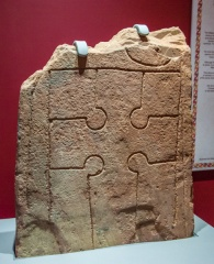 10th century cross-slab from Canisbay