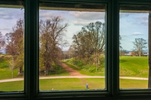 The Antonine Wall from a second floor window