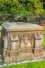 Tomb of James III and Margaret of Denmark