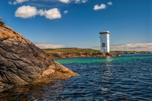 The lighthouse in midday light