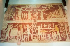 1200AD wall paintings