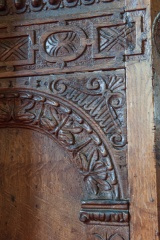 1660 pulpit carving detail
