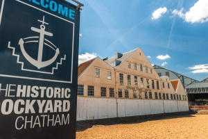 The Dockyard entrance