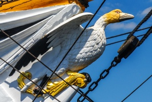 The Gannet figurehead