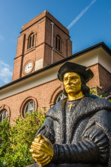 St Thomas More statue