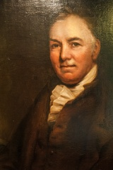 Portrait of Thomas Bewick from the exhibition room