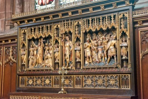 Chapel of St Oswald reredos by CE Kempe