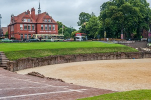 The Roman Amphitheatre (Chester TIC in the background)