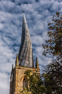 The famous Crooked Spire
