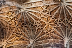 The 15th century chancel vaulting