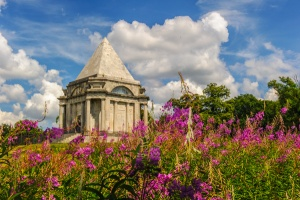 The Mausoleum in summer