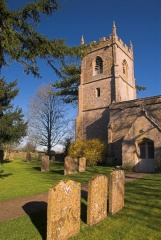 St Andrew's church, Cold Aston