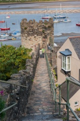 Watchtower on the Conwy River side