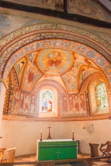 Another view of the apse