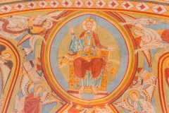 Christ in Majesty in the apse