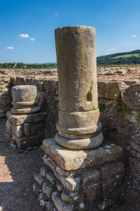 Remains of Roman columns