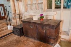 17th century oak chest