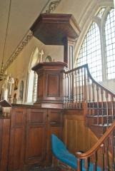 Three decker Georgian pulpit