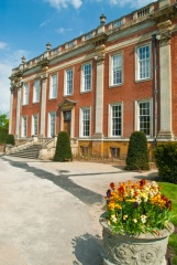 Front entrance of Cottesbrooke Hall