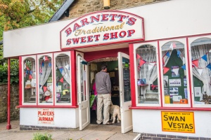 The traditional sweet shop