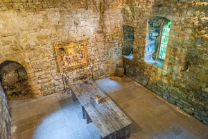 The medieval hall interior