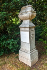 Memorial to Capability Brown at Croome Court, Worcestershire