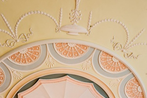Round Drawing Room Ceiling detail