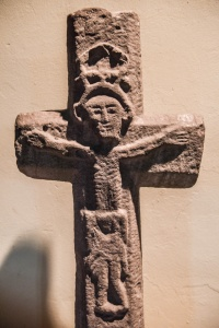 The 13th century Christ on the Cross