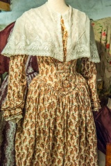 An early 19th century dress