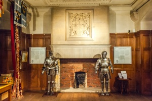 The hall and suits of armour