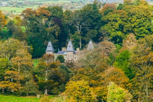 Newton House from Dinefwr Castle
