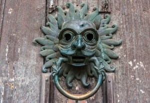 The north door sanctuary knocker