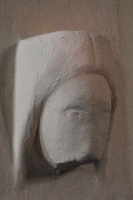 13th century carved head