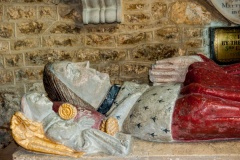 Sir John Fortescue effigy