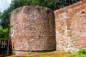 Exeter city walls
