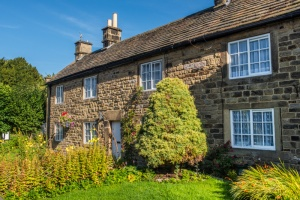 Plague cottages in Eyam