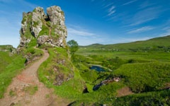 The Fairy Glen, near Uig, Skye