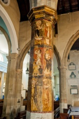 The painted column