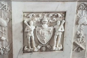 Admiral Ross's memorial coat of arms