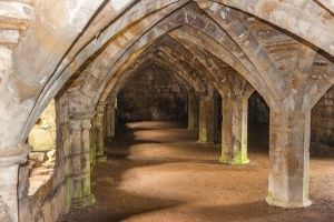 The frater undercroft