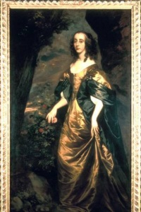 Frances Stuart portrait at Lennoxlove