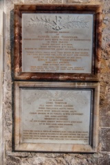 Tennyson family memorial plaques