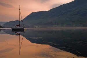 Ullswater sunrise at Glenridding