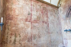 Martyrdom of St Katherine wall painting