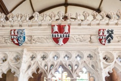 Tropnell family coats of arms