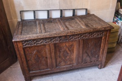 17th century parish chest