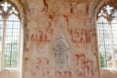 South aisle wall paintings