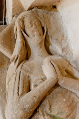 Abbess of Godstow effigy detail