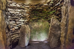 Interior chamber of the long cairn